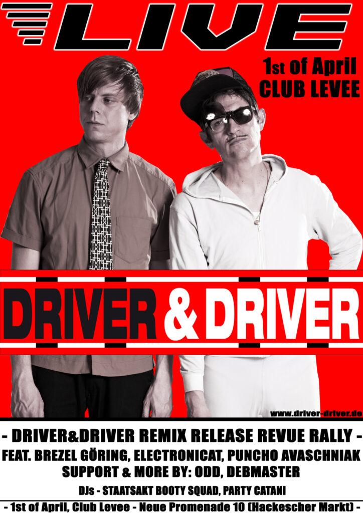 patric catani, chris imler, driver&driver