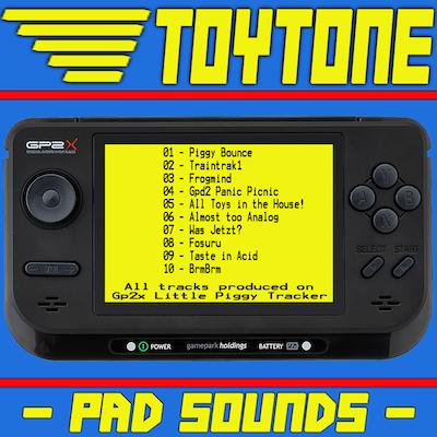 patric catani, toytone - pad sounds album